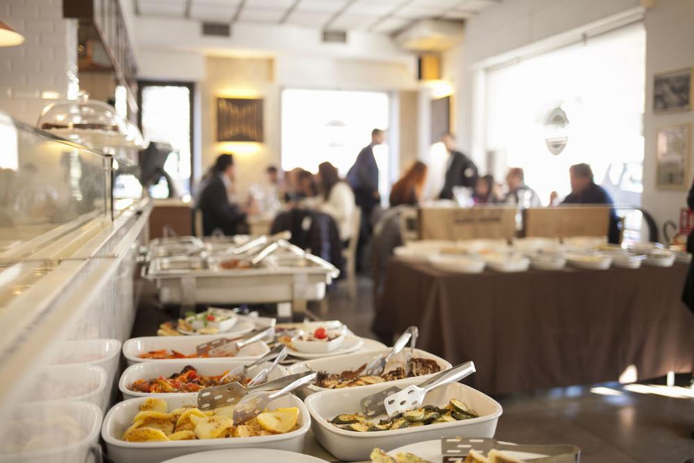 Pausa pranzo? Prova il nostro buffet!