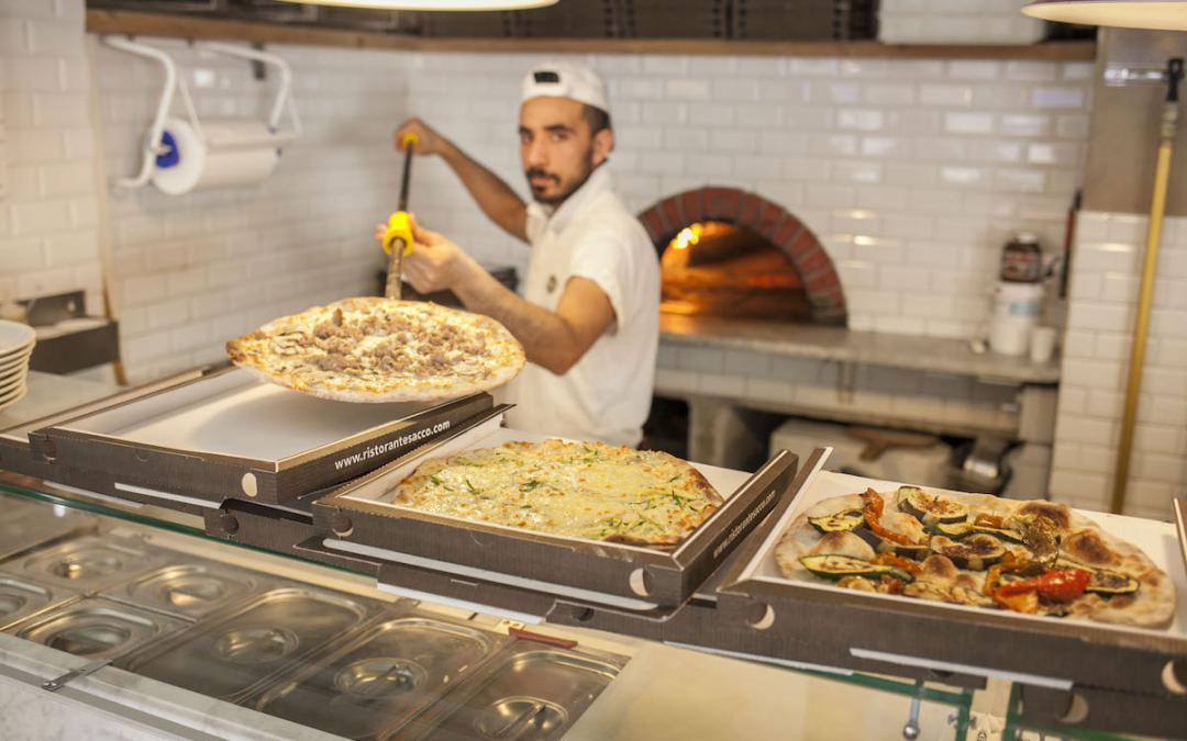 Sacco: la pizza a domicilio a San Giovanni.